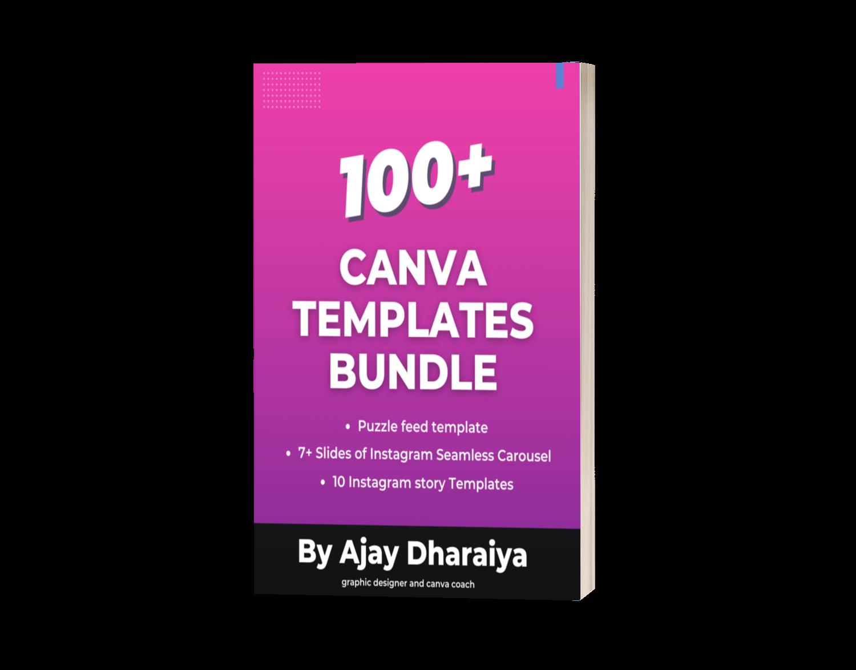 Canva templates100+